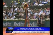 Williams, Sharapova face off in French Open final