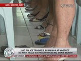 Marc Logan reports: Police trainees in stilettos