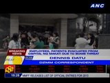 Employees, patients evacuated from Ospital ng Makati due to bomb threat