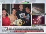 Pinoy boxer KOs foe to win IBO jr. bantamweight title