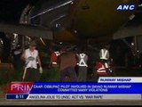 CebPac pilots involved in Davao runway incident suspended