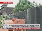 Manila City Hall also blamed for Pasig river oil spill