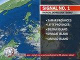 13 areas under Signal No. 1 due to 'Gorio'