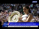 Bartoli beats Lisicki to win Wimbledon finals