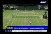 Lisicki, Bartoli advance to Wimbledon women's final