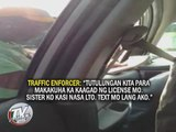 Pasay traffic enforcer caught accepting bribe
