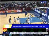 Ateneo routs Adamson for first win