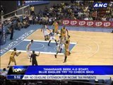 Tams seek 4-0 start, Blue Eagles try to check skid
