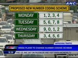 MMDA plans to change number coding scheme