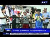 Chinese Olympian to train with Pacman