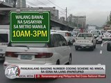 MMDA pushes for new coding scheme amid protests