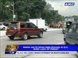 MMDA stops reblocking in QC over permit