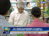 Biz firms urged to comply with Senior Citizens Act