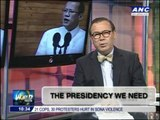 Teditorial- The presidency we need