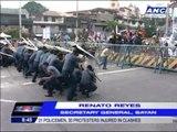 21 cops, 30 activists hurt in SONA clashes