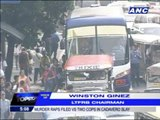 Manila can't ban buses, says LTFRB
