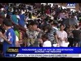 Thousands line up for SK registration