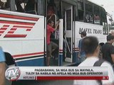 Manila bus ban stays amid protests