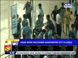 Hong Kong welcomes Man City players