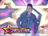 Vhong dances with 'kalokalike' on 'It's Showtime'