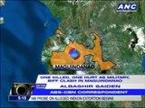 1 killed, 1 hurt in Maguindanao clash