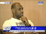 WATCH: LeBron says 'Mabuhay' to Pinoy fans