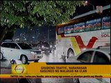Heavy rains snarl Metro Manila traffic anew