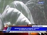 PAGASA debunks 'Philippine snow' video