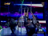 Maja performs sexy dance number on 'Showtime'