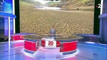 Puy-de-Dôme : le barrage de la Sep complètement asséché à cause de la météo