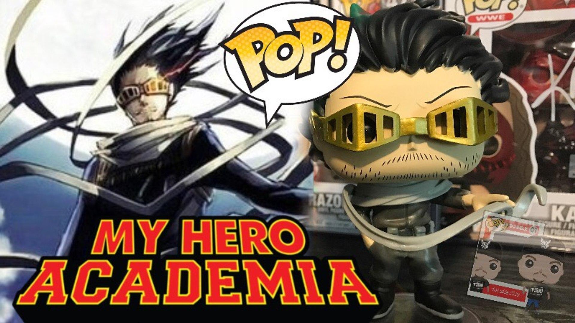 Funko My Hero Academia Pop Animation Shota Aizawa Eraserhead Hero Costume Vinyl Figure Hot Topic Exclusive