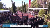 Débarquement de Provence : Emmanuel Macron rend hommage aux vétérans