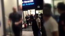 Steven Nzonzi İstanbul Havalimanı'na indi