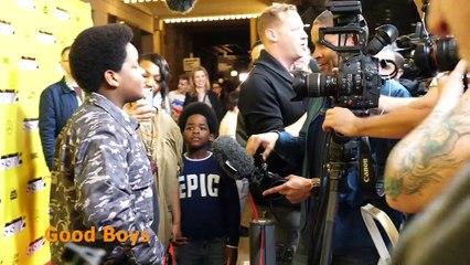 Good Boys Premiere 08/16/2019