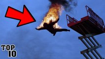 Top 10 Movie Stunts That Went Horribly Wrong