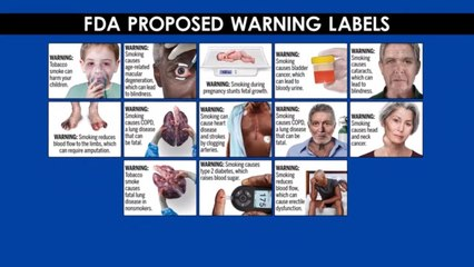 FDA proposing graphic warning labels for cigarettes