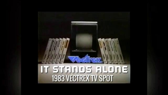It Stands Alone: 1983 Vectrex TV Spot