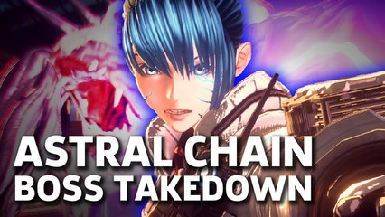 Astral Chain - Boss Takedown Gameplay