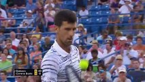 Djokovic into quarters at Cincinnati with win over Busta