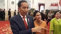 Momen ketika Jokowi dan Iriana Beri Selamat dan Tanyakan Provinsi Para Paskibraka
