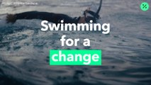 Nadando por el cambio