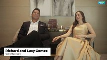 'Take it easy,' Richard and Lucy Torres tells daugther on her love life