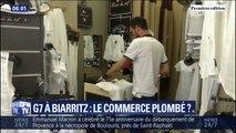 """""""Le G7, clairement, va me ruiner ma saison."""" À Biarritz, les commerçants sont inquiets d'être plombés par le G7"""
