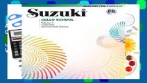 About For Books  Suzuki Cello School, Vol 4  Cello Part (Book   CD) (Suzuki Cello School, Volume