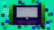 Civil and Environmental Systems Engineering (Civil Engineering and Engineering Mechanics Series)