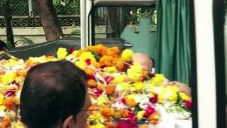 Funeral Of Veteran Filmmaker J Omprakash