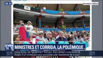 Deux ministres, photographiés à Bayonne pour assister à une corrida, font polémique