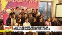 Janella Salvador, feeling blessed na may bagong kakantahin sa Himig Handog | UKG