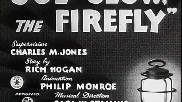 Joe Glow the Firefly (1940)
