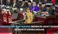 Jokowi Berbaju Adat Sasak di Pidato Kenegaraan, Ini Maknanya!